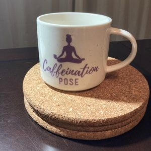NWT Caffeination Pose Mug